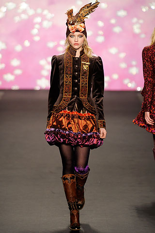 Anna Sui Runway Velvet Jacket