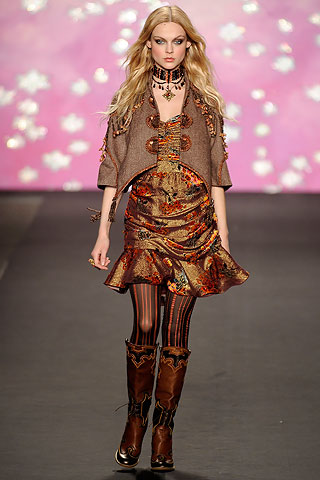 Anna Sui Runway Look