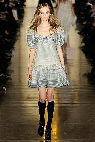 Jill Stuart Dress Jill Stuart Grey Striped