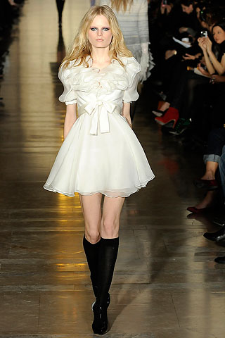 Jill Stuart Bow Front Runway Dress