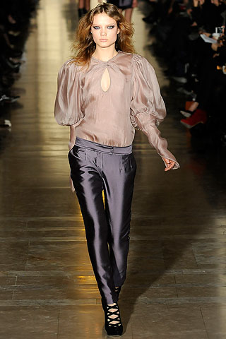 Jill Stuart Runway Leather Pants