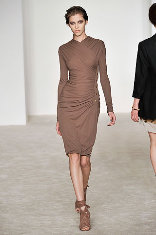 Derek Lam Tan Jersey Dress