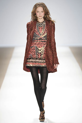 Nanette Lepore Fall 2009 Print Dress