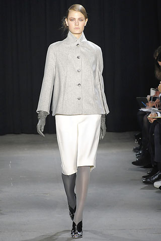 Thakoon Grey Jacket and Ivory Short