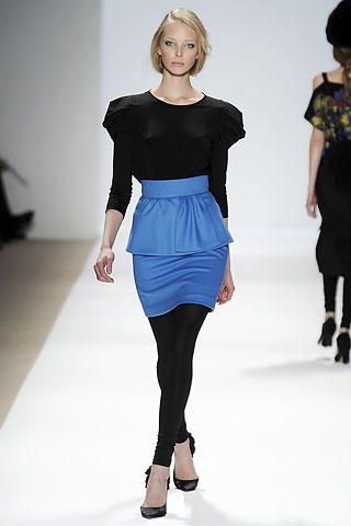 Tibi Blue Petal Skirt