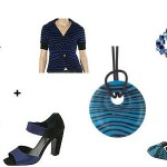 Workchic trend alert:  Blue and Black
