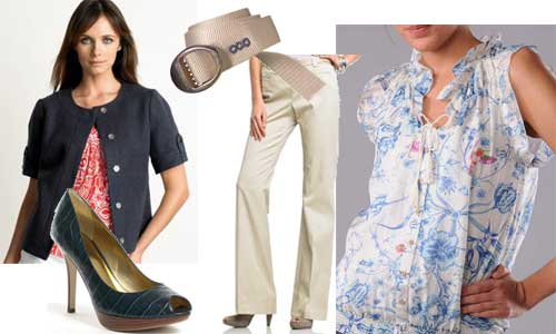 business casual attire for women. Business Casual outfit with