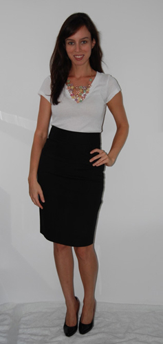 Sydne Summer chic pencil skirt