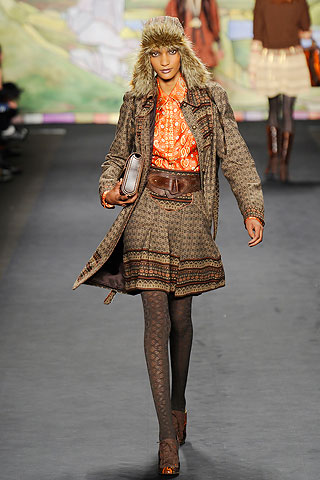 Anna Sui Collection for Fall 2010