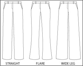Different Pant Fits