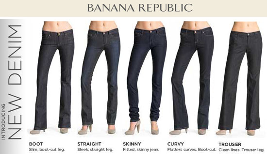 Denim from Banana Republic