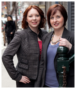 Workchic co-founders Melissa McGraw and Jennifer Gregory