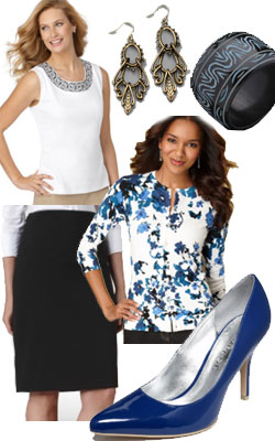 Macy's Business Casual Spring outfit