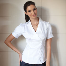 White Shirt Dress on We Adore This Contemporary Styling For A Wide Range Of Business Casual