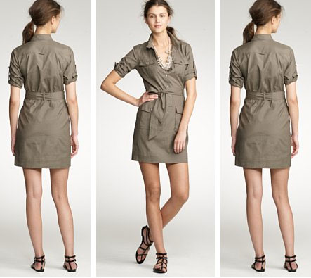 Dress Shopping on We Found This Silk Cargo Dress While Shopping At J  Crew  Neutral