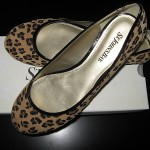 Frugal Wednesday – leopard print flats