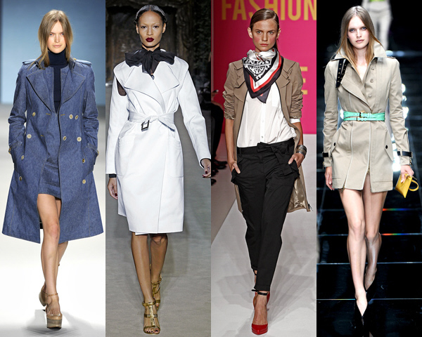 Spring 2011 trench coats