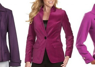 colorful outerwear for work