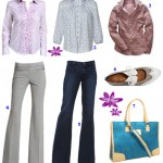 Style Me Monday – floral button tops