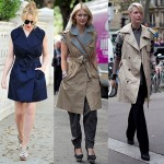 Sleeveless trench coats