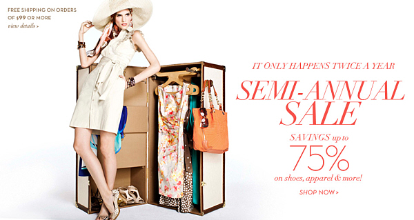 Semi-Annual Sales and more summer deals
