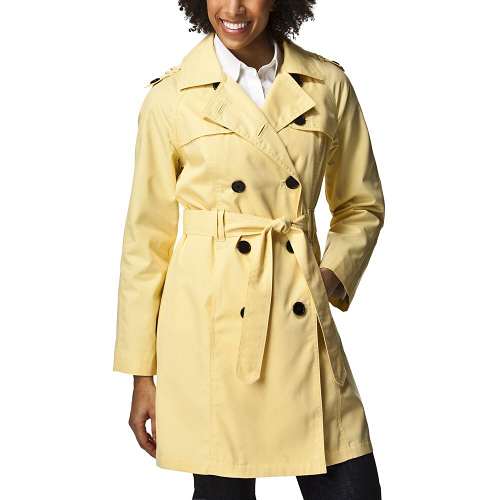 waterproof trench