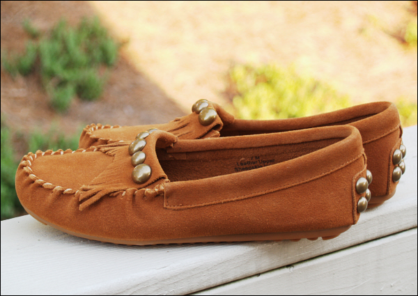 Fall for moccasins
