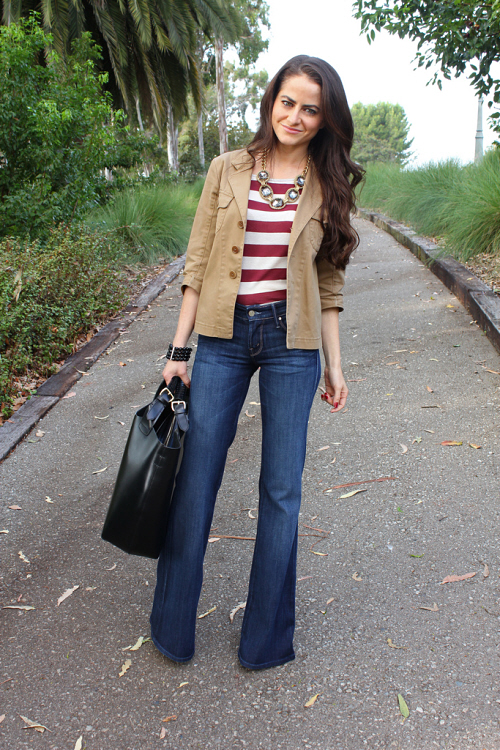 stripe top outfit