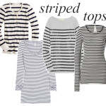 striped tops long sleeves