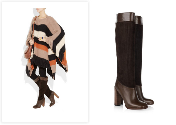 Look for Less – Marc by Marc Jacobs Corduroy Knee Boots