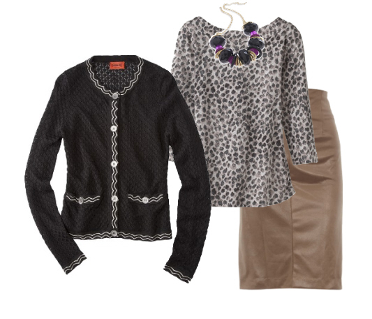 cardigan office outfit