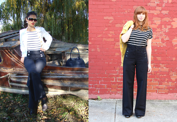 sailor pants styling