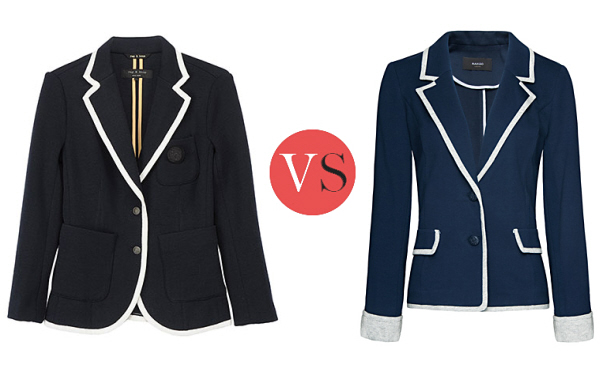 Look for Less – Rag & Bone Bromely knit blazers