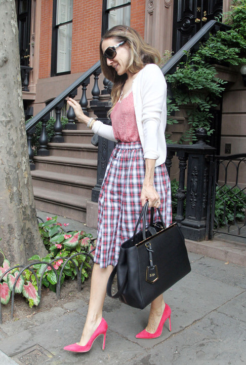 Working the plaid