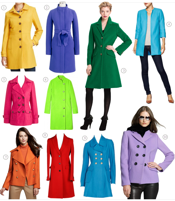 VonFon Women Stitching Zipper Long Dust Coat Slim Woolen Coat Discount