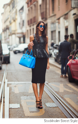 peplum fashion
