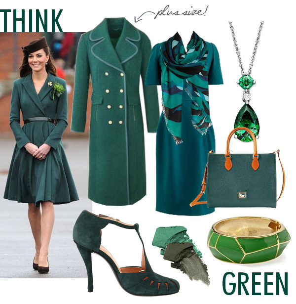 Kate Middleton green dress fashion trend