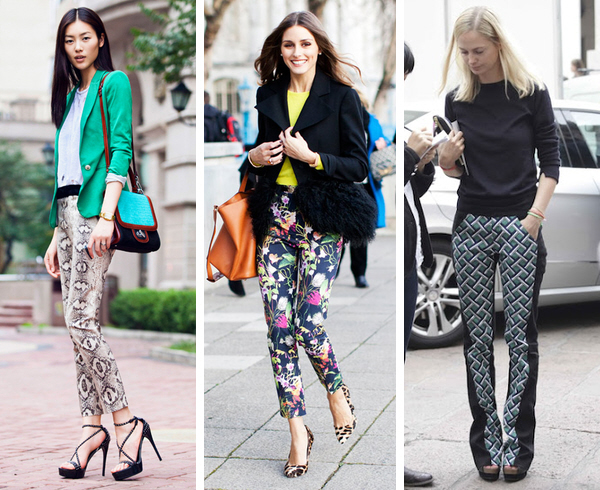 How to wear printed pants to work | WorkChic