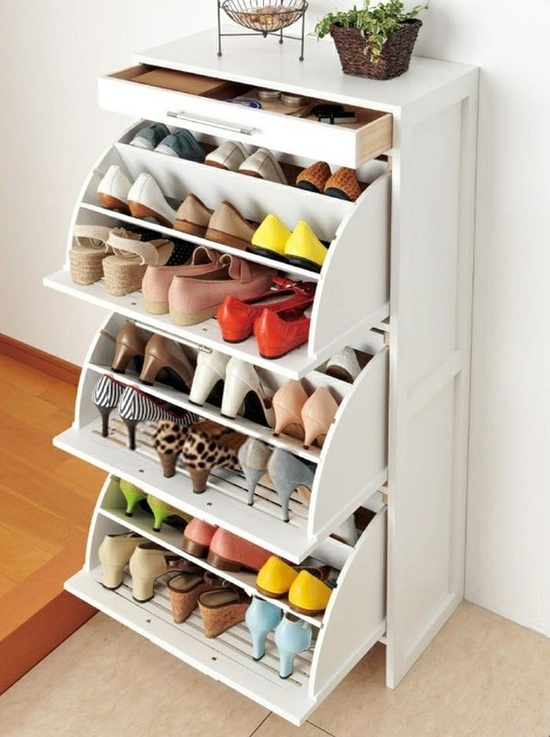 shoe storage cabinet