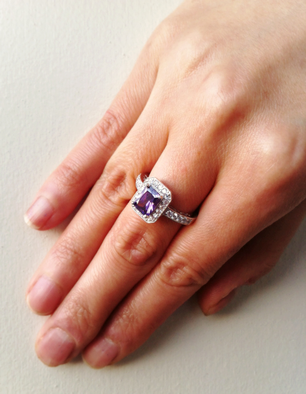 Vintage Amethyst Ring Bee 39 S Knee Gems Review Workchic