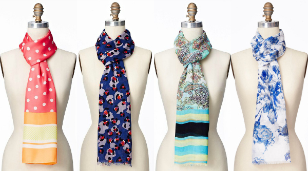 Perfect summer scarves