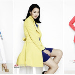 colorful trench coats