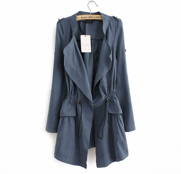 Budget Finds – Drawstring Trench Coat