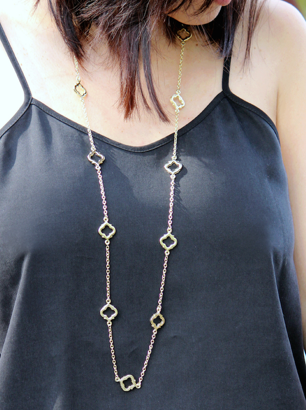 long necklace style
