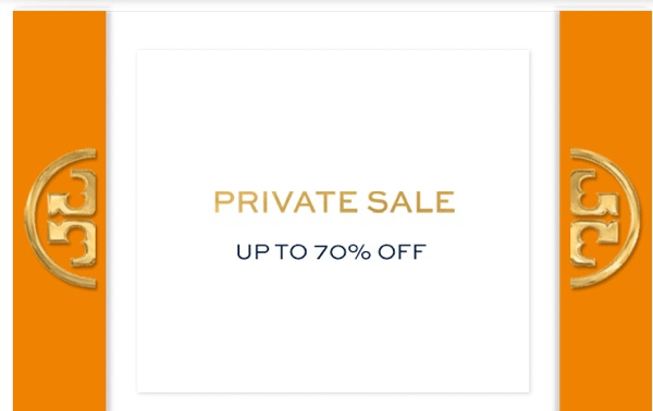 Tory Burch private sale - 70% off