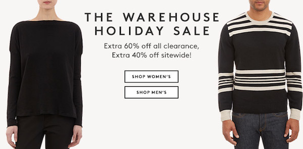 The Warehouse Holiday Sale & More