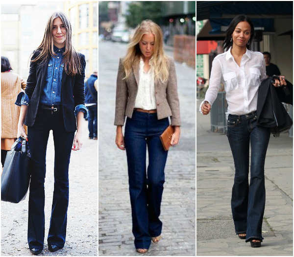 Women's Boot cut jeans for the office - casual chic | WorkChic