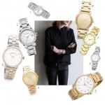 stainless steel ladies watches