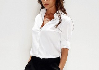 victoria beckham business outfit