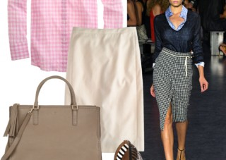 gingham fashion trend ss15